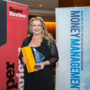 Christine Swanson got the gong for Pro Bono at the Women in Financial Services Awards 2015.
