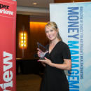 Danielle Clarke won the Marketing and Communications award at the Women in Financial Services Awards 2015.