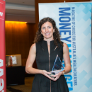 Lara Neate won the Rising Star category at the Women in Financial Services awards.