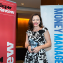 Sue Viskovic won the Mentor of the Year title at the Women in Financial Services Awards 2015.